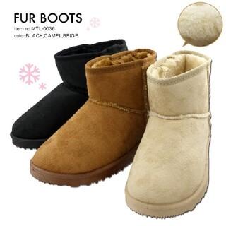 新品送料無料♪つま先まで暖か♪ムートン系ショートブーツ⭐️(ブーツ)
