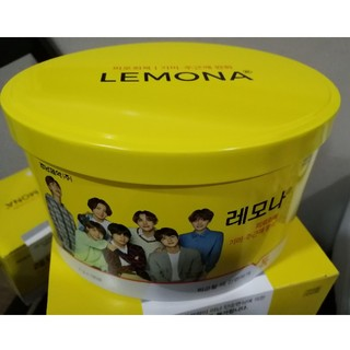 BTS レモナ 全員 楕円缶
