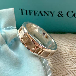 Tiffany & Co. - ★美品仕上げ★ Tiffany&co. ティファニー 14号 アトラスリング