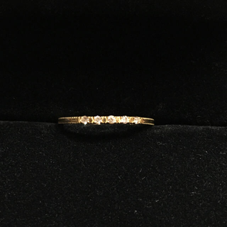 アガット(agete)のアガット 18K ダイヤモンド リング(リング(指輪))