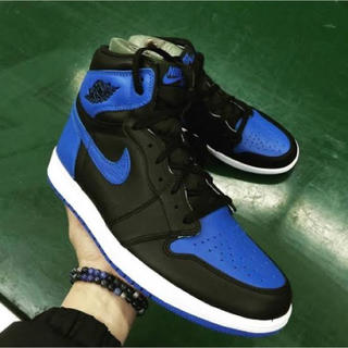 NIKE - NIKE AIR JORDAN1 RETRO HI OG ROYAL