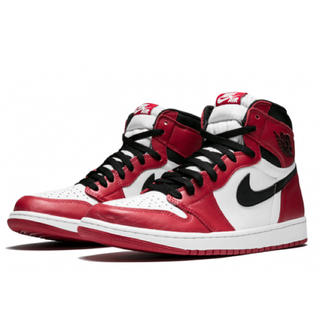 ナイキ(NIKE)のNIKE AIR JORDAN 1 RETRO HIGH OG CHICAGO (スニーカー)