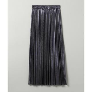 ジーナシス(JEANASIS)の♡今季 タグ付き 新品♡JEANASIS グリッタープリーツロングスカート(ロングスカート)