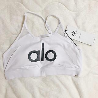 ルルレモン(lululemon)のalo yoga logo bra 新品未使用 S(ブラ)