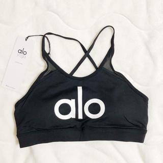 lululemon - alo yoga logo bra  新品未使用 S