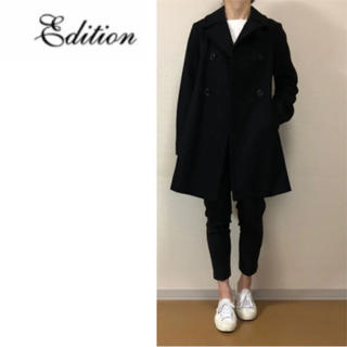 TOMORROWLAND - エディション☆カシミヤ混ウールコート☆トゥモローランド☆EDITION☆