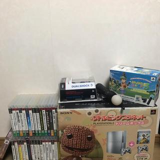 プレイステーション3(PlayStation3)のPS3 80GBのジャンクとソフトセットです。(家庭用ゲーム機本体)