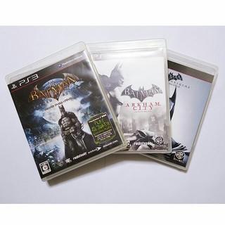 プレイステーション3(PlayStation3)の【PS3】バットマン:アーカム フルセット(アメコミ)