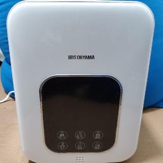 アイリスオーヤマ(アイリスオーヤマ)の加熱式 加湿器 超音波式 + アイリスオーヤマ ハイブリッド式 ホワイト(加湿器/除湿機)