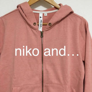 ニコアンド(niko and...)の niko and … ニコアンド パーカー 七分袖(パーカー)