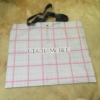 セシルマクビー(CECIL McBEE)のセシルマクビー ショッパー 限定 グレンチェック(ショップ袋)