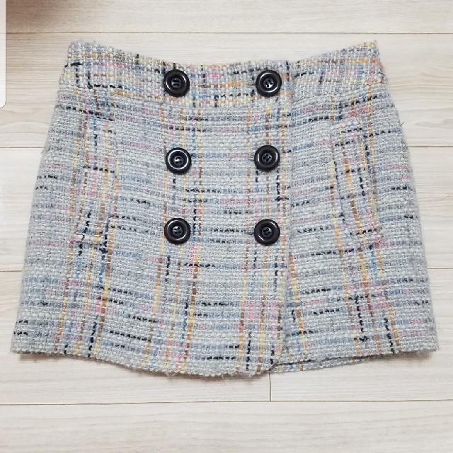 JILL by JILLSTUART(ジルバイジルスチュアート)のジルバイジルスチュアート ツイードスカート レディースのスカート(ミニスカート)の商品写真