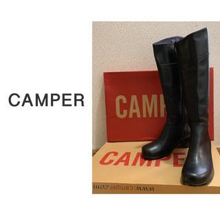 カンペール(CAMPER)のCAMPER ロングブーツ ブラック (ブーツ)