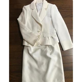 未使用 SAVIemサビエムセットアップスーツ ホワイト 9(スーツ)