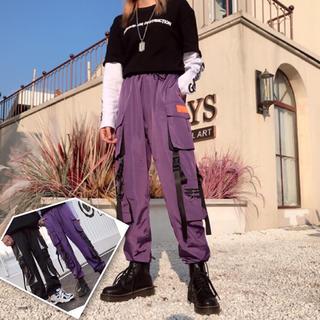 【ユニセックス】今期大人気 カーゴパンツ ストリート系 韓国ファッション(ワークパンツ/カーゴパンツ)