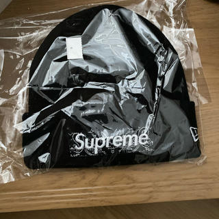 Supreme - supreme ボックスロゴ ビーニー ブラック