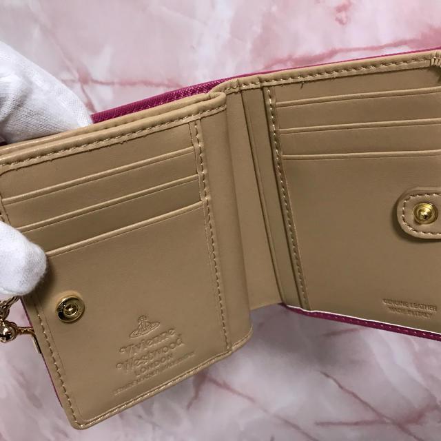 Vivienne Westwood(ヴィヴィアンウエストウッド)のピンク❤️二つ折りがま口財布❤️ヴィヴィアンウエストウッド レディースのファッション小物(財布)の商品写真