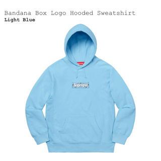 Supreme - size L / Bandana Box Logo Light Blue