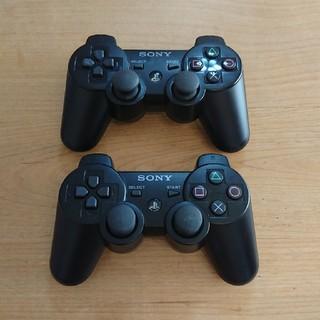 プレイステーション3(PlayStation3)のPS3 純正 コントローラー  DUALSHOCK3 デュアルショック【2台】(その他)