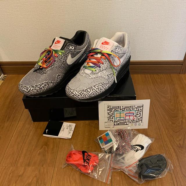 "NIKE(ナイキ)の【極美品27.5cm】AIR MAX 1 OA ""YT TOKYO MAZE"" メンズの靴/シューズ(スニーカー)の商品写真"