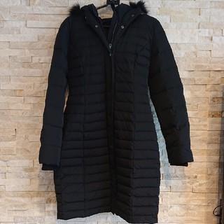 ZARA - ZARA【ザラ】のロングダウンコート ファー付き ブラック黒꙳★*゚