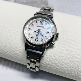 セイコー(SEIKO)のSEIKO セイコー ルキア ソーラー 電波 レディース 腕時計 1B25(腕時計)