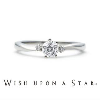 Wish upon a star/星のダイヤモンド/プラチナリング