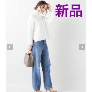 Noble - 新品タグ付き NOBLE ワッフルハイネックプルオーバー ニット