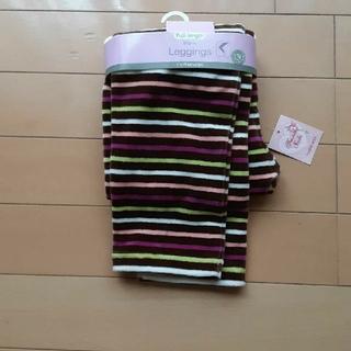 マザウェイズ(motherways)の新品未使用タグ付きマザウェイズフルレングスウォームレギンス茶色130サイズ(パンツ/スパッツ)