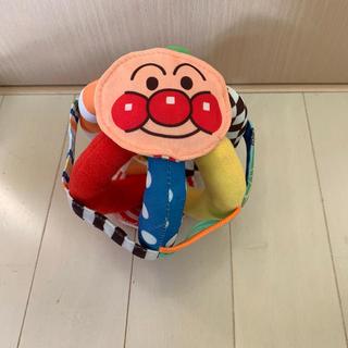 バンダイ(BANDAI)のアンパンマンラボ ボール にぎにぎ ガラガラ 布おもちゃ(がらがら/ラトル)