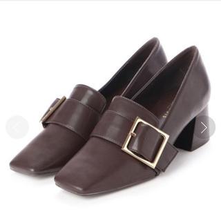 ランダ(RANDA)のRANDA♡スクエアトゥシューズ(ローファー/革靴)