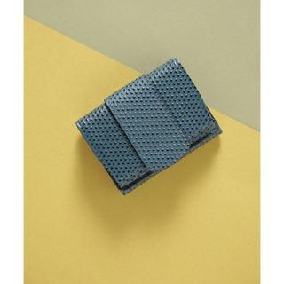 ナノユニバース(nano・universe)の【Hashibami】ダックミニウォレット ブルー(財布)
