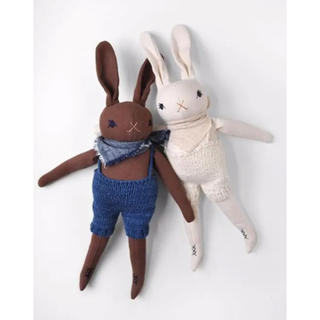 Caramel baby&child  - polka dot club medium rabbit in KNITS
