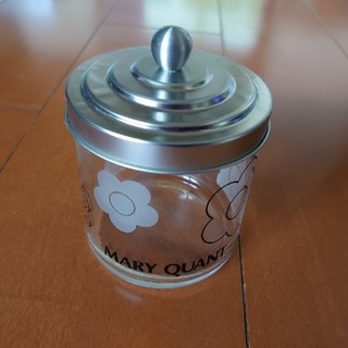MARY QUANT - マリークワント  ガラス製物入れ(フタ付き)