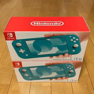Nintendo Switch - 任天堂スイッチライト ニンテンドースイッチ ライト 2台セット