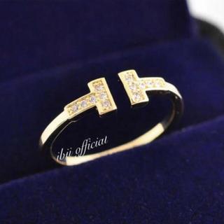 Tiffany & Co. - 最高級 ティファニー好き Tワイヤーリング ゴールド 大幅値下げ✨