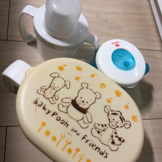 ディズニー(Disney)の離乳食 調理セット&コップなど3点セット(離乳食調理器具)