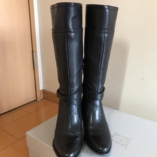 STRATEGIA ストラテジア ロングブーツ 黒 Mサイズ(ブーツ)