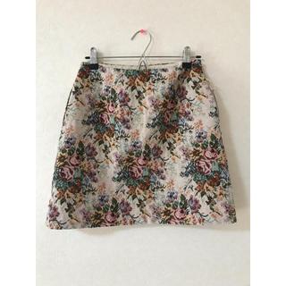 GU - gu ゴブラン織りミニスカート
