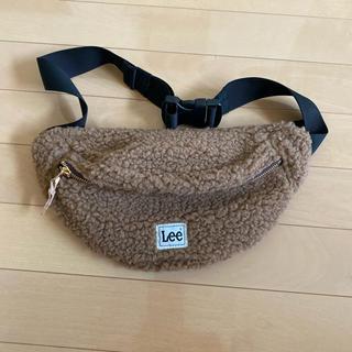 リー(Lee)の新品未使用 Lee ボアウエストポーチ(ボディバッグ/ウエストポーチ)