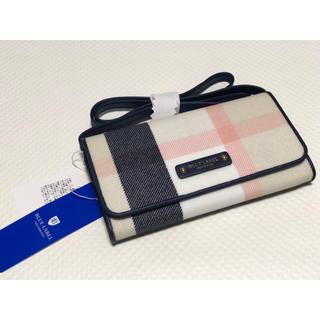 バーバリーブルーレーベル(BURBERRY BLUE LABEL)のバーバリー  財布 クレストブリッジ ブルーレーベル(財布)