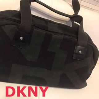 DKNY - トートバッグ ボストンバッグ 黒 旅行バッグ 大きなサイズ ブラック 男女兼用