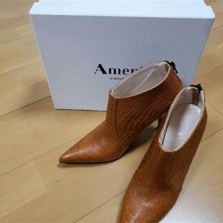 アメリヴィンテージ(Ameri VINTAGE)のAmerivintage クロコショートブーツ(ブーツ)