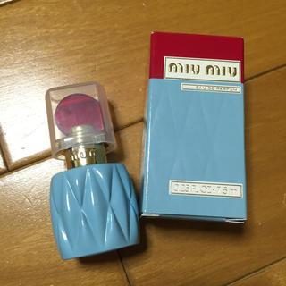 ミュウミュウ(miumiu)のmiumiu 香水7.5ml 新品未使用(香水(女性用))