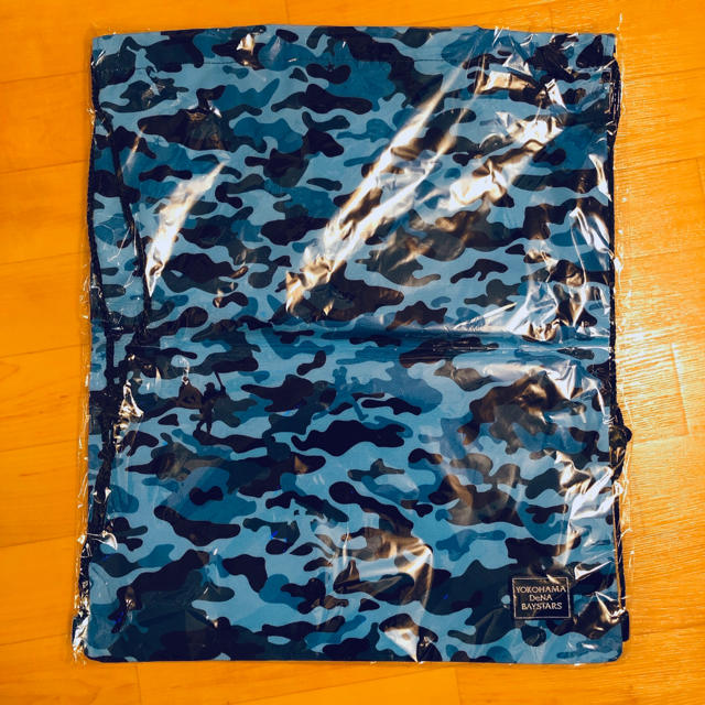 横浜DeNAベイスターズ(ヨコハマディーエヌエーベイスターズ)のナップサック メンズのバッグ(バッグパック/リュック)の商品写真