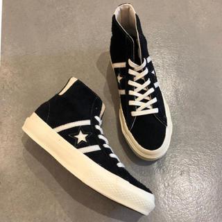 コンバース(CONVERSE)のALLSTAR STAR&BARS SUEDE HI(スニーカー)