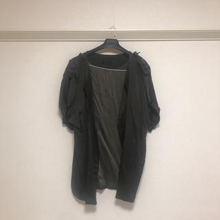 マルティニークルコント(martinique Le Conte)のカーキの半袖ジャケット(テーラードジャケット)