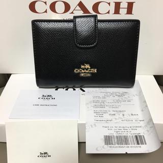 COACH - 即日発送 coach二つ折り財布 正規品 新品