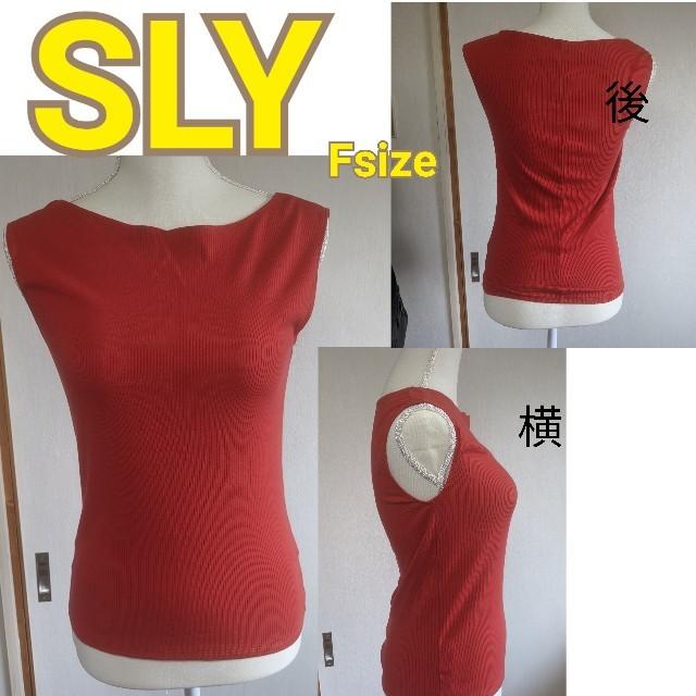 SLY(スライ)のトップス レディースのトップス(Tシャツ(半袖/袖なし))の商品写真