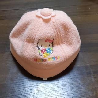 ハローキティ(ハローキティ)のキティちゃんピンク赤ちゃん帽子(帽子)